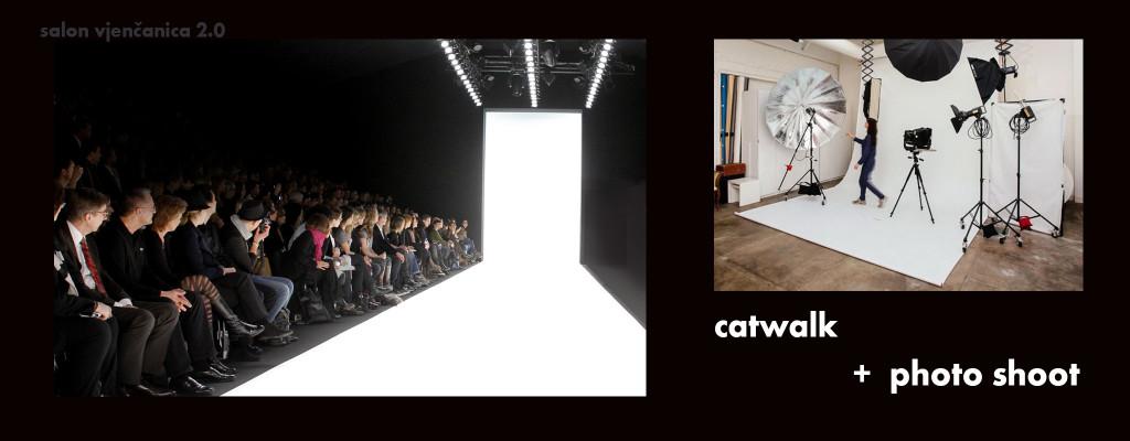 alite catwalk photo shoot wedding shop